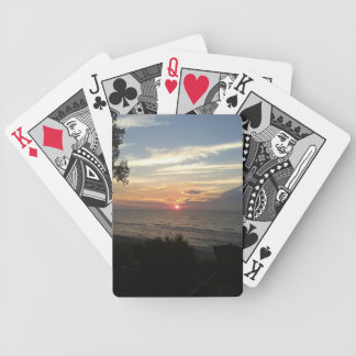 Sunset Playing Cards