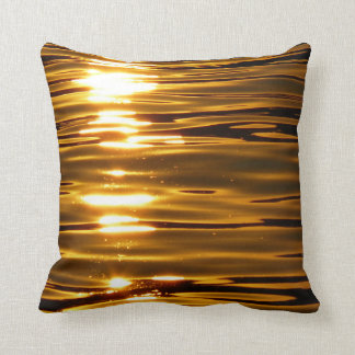 Sunset Polyester throw Pillow