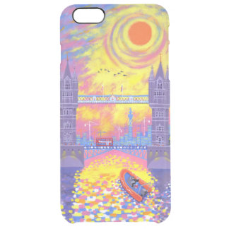 Sunset:Pool Of London 2013 Clear iPhone 6 Plus Case