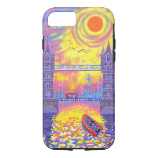 Sunset:Pool Of London 2013 iPhone 8/7 Case