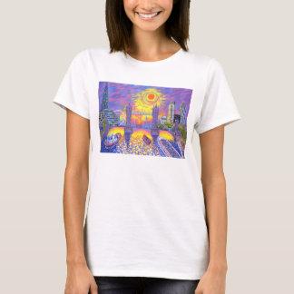 Sunset:Pool Of London 2013 T-Shirt