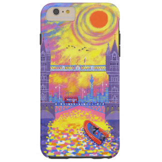 Sunset:Pool Of London 2013 Tough iPhone 6 Plus Case