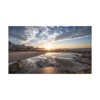 Sunset, Port Elizabeth, South Africa Canvas Print