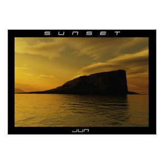 SUNSET POSTERS