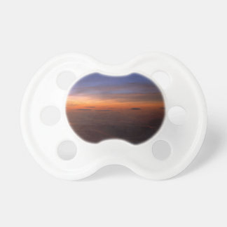 Sunset Purple Atmosphere Baby Pacifiers