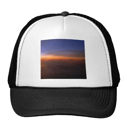 Sunset Purple Atmosphere Hat