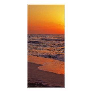 Sunset 10 Cm X 23 Cm Rack Card