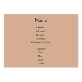 Sunset Rays Coral Pack Of Chubby Business Cards
