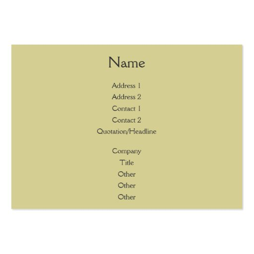 Sunset Rays Gold Business Card Templates