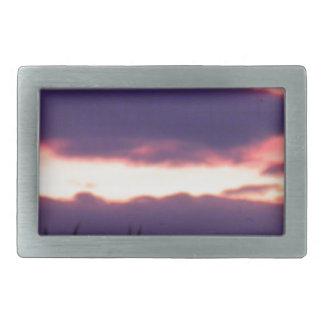 sunset rectangular belt buckles