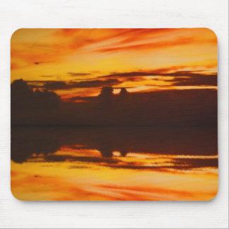 Sunset Reflection Mouse Mat