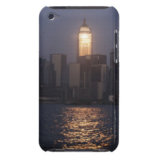 Sunset reflection on Central Plaza, WanChai, Barely There iPod Cover