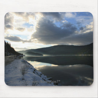 Sunset reflections mouse pad
