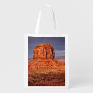 Sunset Reusable Grocery Bag