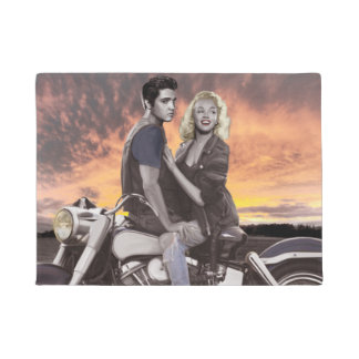 Sunset Ride 2 Doormat
