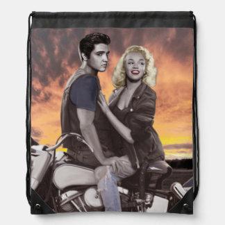Sunset Ride 2 Drawstring Bag