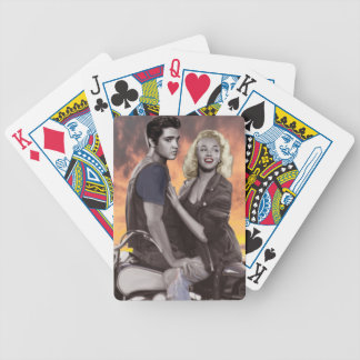 Sunset Ride Bicycle Playing Cards