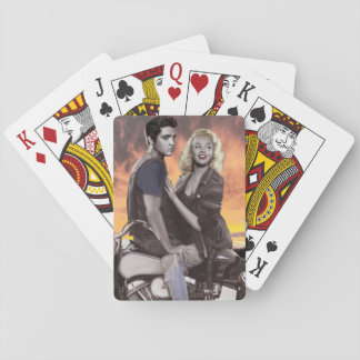 Sunset Ride Playing Cards