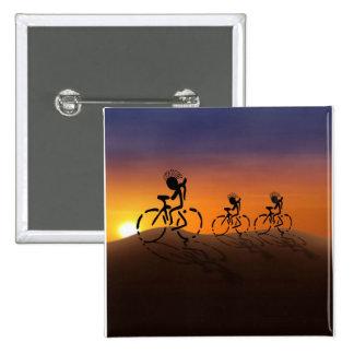 Sunset Riders 15 Cm Square Badge