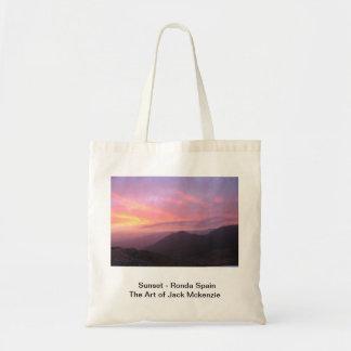 Sunset - Ronda Spain Bag