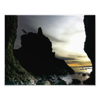 Sunset Ruby Beach in Olympic Photographic Print