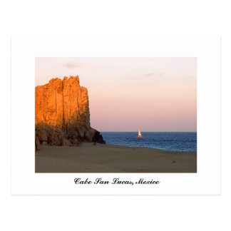 Sunset Sail, Cabo San Lucas, Mexico Postcard