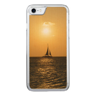 Sunset Sail Carved iPhone 8/7 Case
