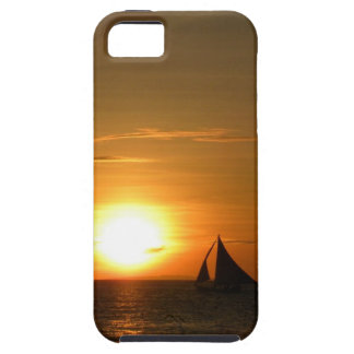 Sunset Sailing phone case
