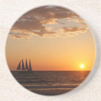 Sunset Sails Coaster