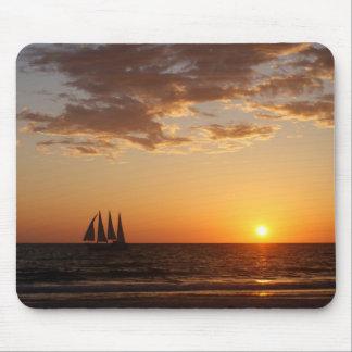 Sunset Sails Mouse Mat