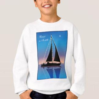 Sunset Sails with Holiday Lights Sweatshirt