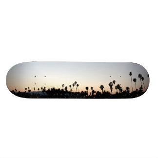 Sunset Santa Barbara Beach Custom Skateboard