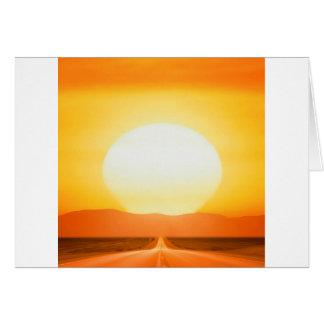 Sunset Savage Card