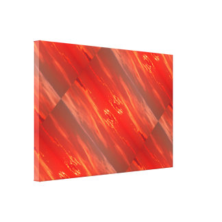 Sunset: Scarlet Red Canvas 2 Gallery Wrapped Canvas