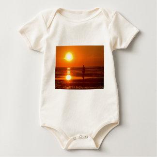 Sunset Scene Baby Bodysuit