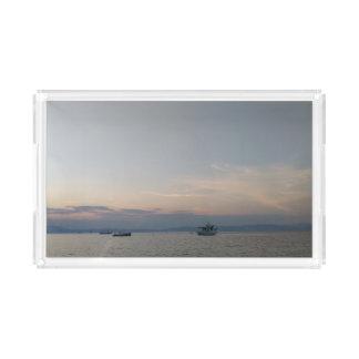 Sunset Sea Boats Custom Small Vanity Tray