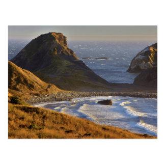 Sunset, Sea Stacks, Sisters, Oregon Coast Postcard