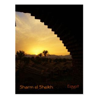 Sunset Sharm el Sheikh Postcard