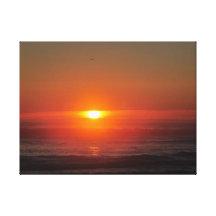 Sunset Sigh Canvas Print