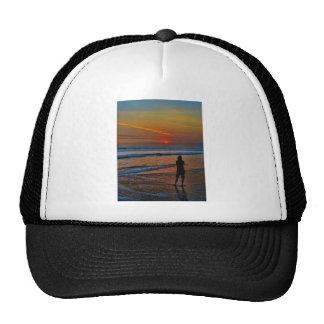 Sunset Silhouette Trucker Hat