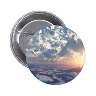 Sunset Skies 6 Cm Round Badge