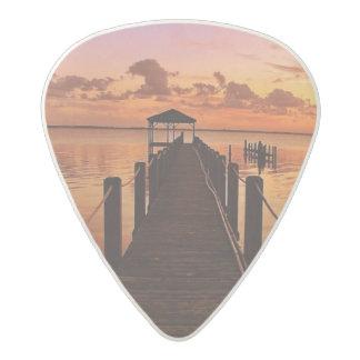 Sunset Sky Acetal Guitar Pick