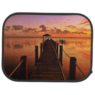 Sunset Sky Car Mat
