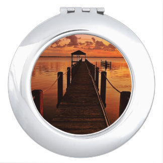 Sunset Sky Compact Mirrors