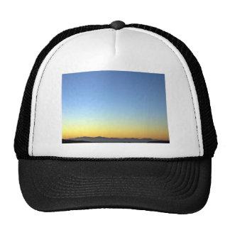 Sunset Sky Gradients Mesh Hat