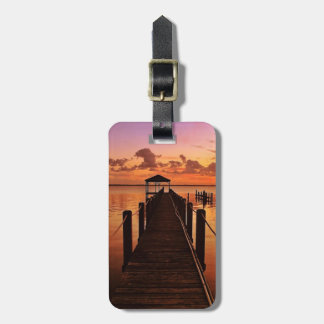 Sunset Sky Luggage Tag