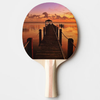 Sunset Sky Ping Pong Paddle