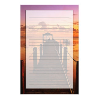 Sunset Sky Stationery