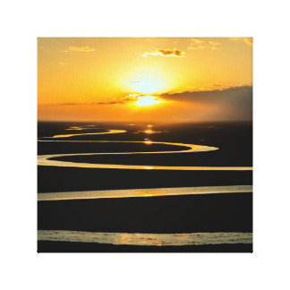 Sunset Snake River Canvas Art
