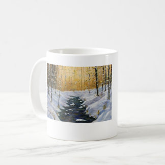 SUNSET SNOW ON BEARGRASS CREEK MUG